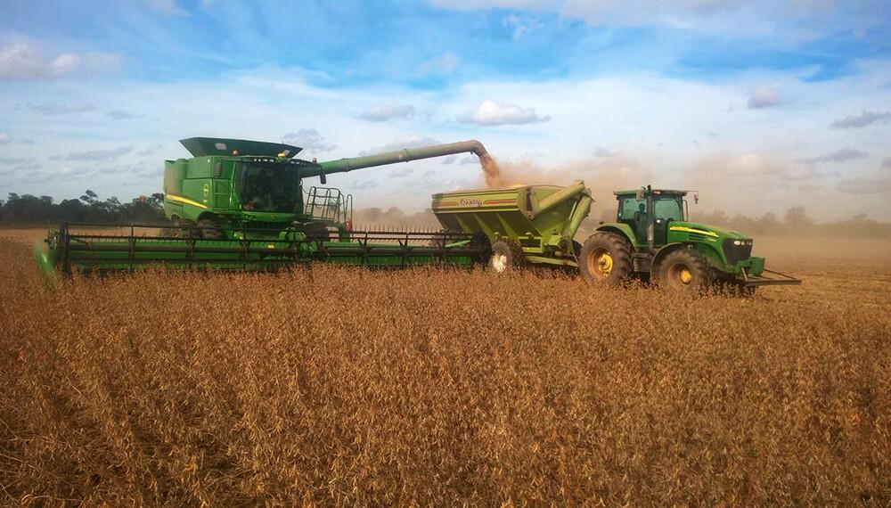 La cosecha de soja tardía avanza con resultados variados en el centro norte de Santa Fe